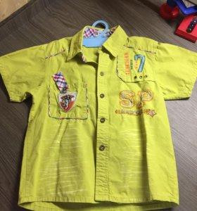 Рубашка на 5-6 лет