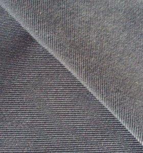 Ткань черный вельвет