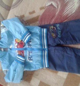 Теплый спортивный костюм от 1,5-3 лет