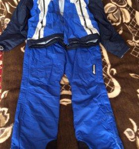 Зимний костюм (куртка брюки на подтяжках) Унисекс