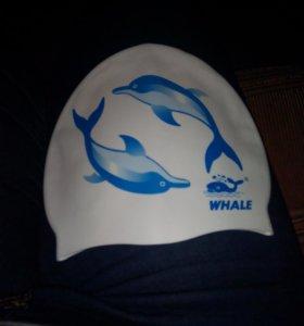 Резиновая шапочка для плавания, новая