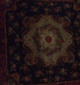 Скатерть антикварная ковровая редкая