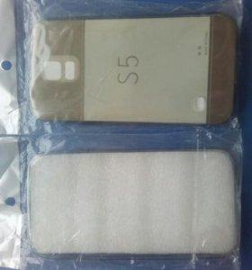 Бампер силиконовый для Самсунг S5
