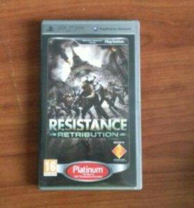 Resistance retribution для psp