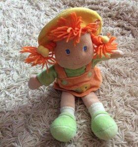 Кукла плюшевая