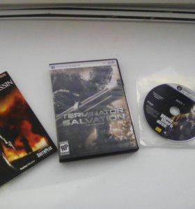 Продам диски гта 4 ,velvet assassin, Terminator
