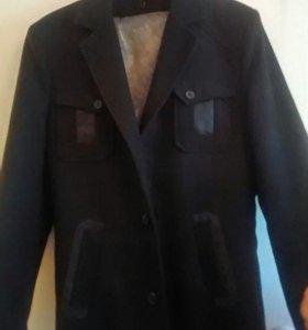Пальто драп р. 46