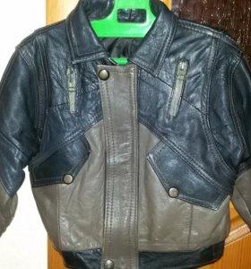 Куртка кожанная 2-4г.