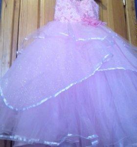 Бальное платье на новый год!