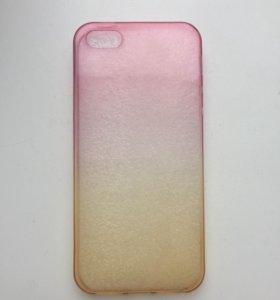 Чехол на айфон 5/5s силиконовый