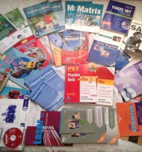 Учебники по английскому языку🇺🇸 SAT, Toefl, KET,