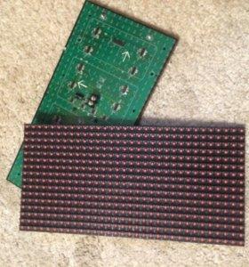 Модуль светодиодный красный P10