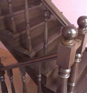 Изготовление монтаж лестниц