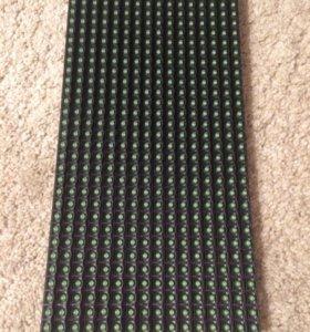 Зелёный светодиодный модуль P10