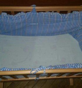 Продам кроватку.