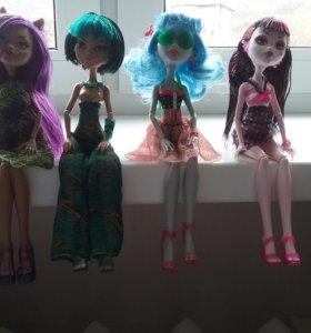 Куклы монстер хай ( настоящие )