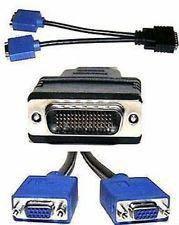 Видеоразветвитель DMS-59 на 2 VGA и DVI