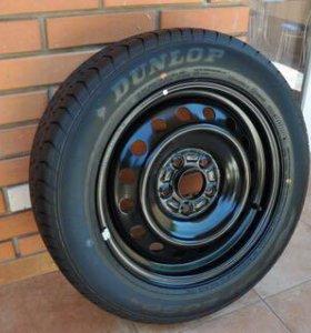 Шина Dunlop на стальном диске