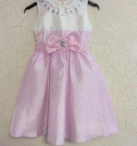 Нарядное платье для девочки, р.110