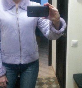 Куртка женская (дубленка) 42 - 44 р