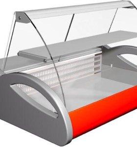 Витрина холодильная Арго BXC-1,0 + подставка