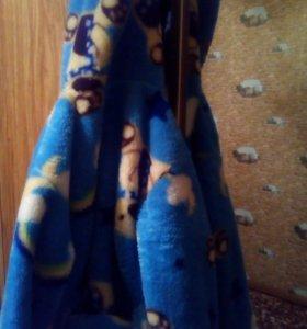 Детский банный халат.