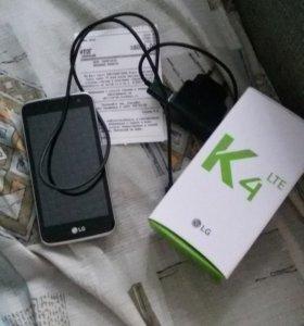 Телефон LG K4lte