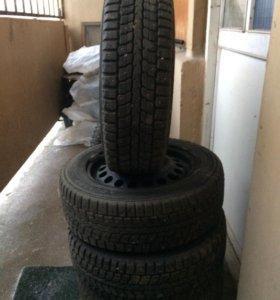 Зимние колёса, с дисками