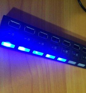 USB-хаб с 7-ю портами