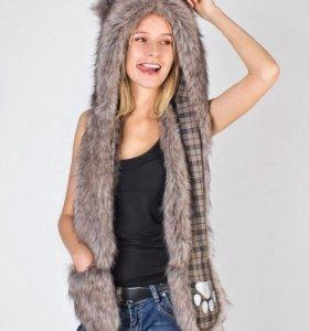 Шапка Волк