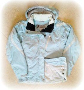 Куртка зимняя спортивная Columbia titanium