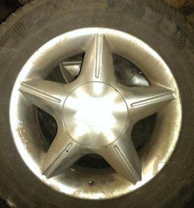 Колеса в сборе R14 (литые диски + шины) 4 шт.