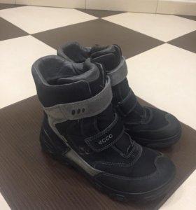 Зимние ботинки Ecco 39р-р