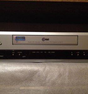 LG видеомагнитофон