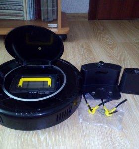 Робот-пылесос robotic vacuum cleaner b2