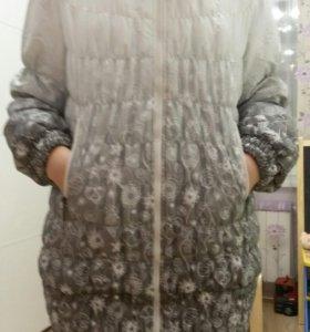 Осенняя теплая куртка для беременных 46 размер