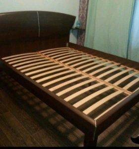 Комплект Лазурит кровать160х200+тумба