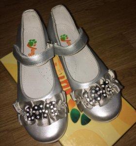 Новые туфли детские р.33