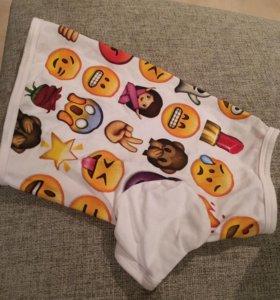 одежда для собак футболка