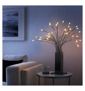 Настольная лампа, светодиодная, сталь, ikea