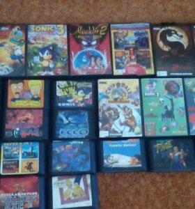 Продаю картриджи для Sega