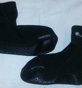 Носки для серфинга TRIBORD новые