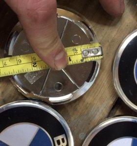 Заглушки на диски BMW