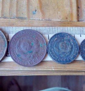Монеты 1924 года 1.2.3.5 коп