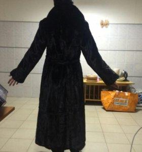 Норковая шуба 48 размер