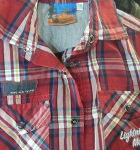Новая фирменная рубашка для мальчика плюс подарок