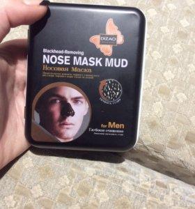 Чёрная маска -плёнка для носа