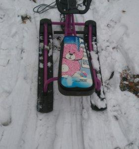 "Снегокат ""пингвин"""