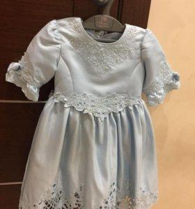 детское  платье, на 3 года