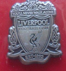 Знак Liverpool FC Ливерпуль Football Футбол